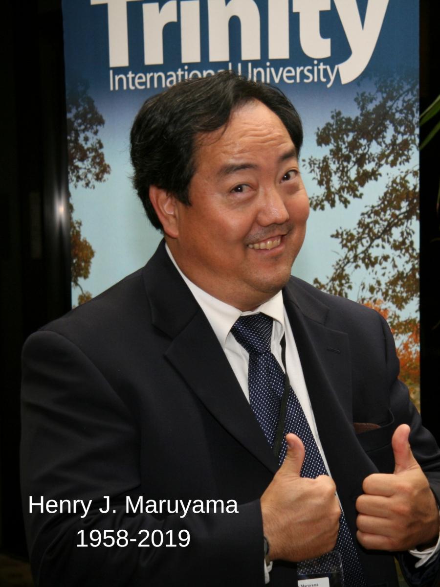 In Loving Memory of My Friend, Henry J. Maruyama